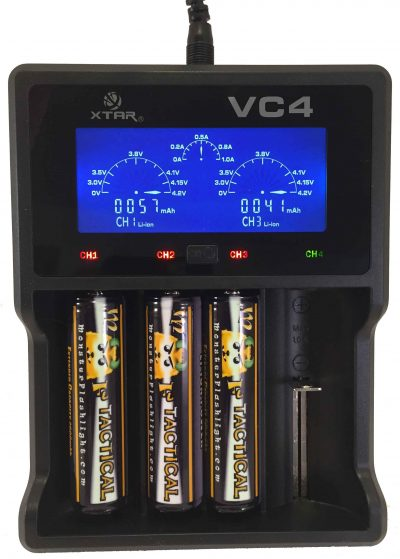 VC4 AC/DC/USB Smart Charger